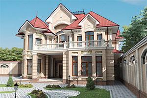 Строительство каменных домов и коттеджей в СПб - Отделка