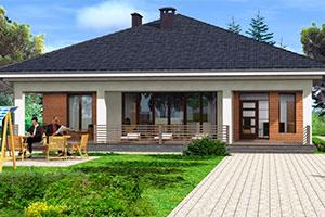 Загородные дома и коттеджи под ключ, проекты и цены